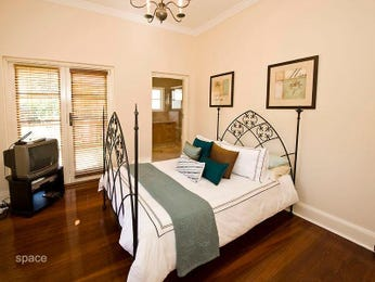 Brown bedroom design idea from a real Australian home - Bedroom photo 498597