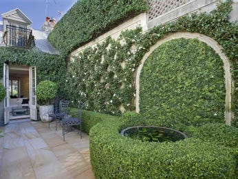 garden ideas with tiles