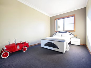 Red bedroom design idea from a real Australian home - Bedroom photo 15894569