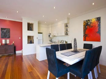 Black dining room idea from a real Australian home - Dining Room photo 128580