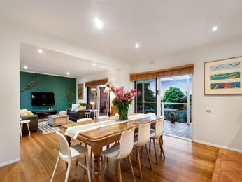 Green dining room idea from a real Australian home - Dining Room photo 16815961