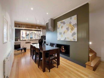 Green dining room idea from a real Australian home - Dining Room photo 7701829