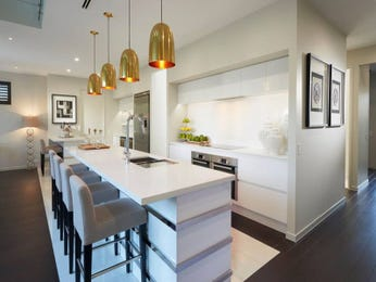 Pendant lighting in a kitchen design from an Australian home - Kitchen Photo 15988009