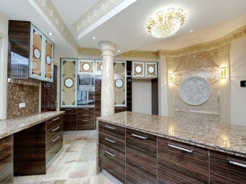 Classic l-shaped kitchen design using granite - Kitchen Photo 131921