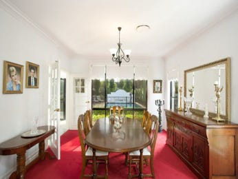 Red dining room idea from a real Australian home - Dining Room photo 15143669