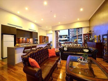 Brown living room idea from a real Australian home - Living Area photo 7262925