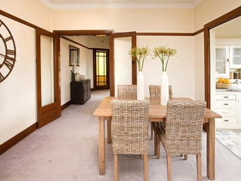 Brown dining room idea from a real Australian home - Dining Room photo 482059