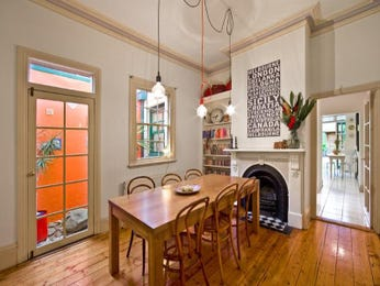 Orange dining room idea from a real Australian home - Dining Room photo 1034210