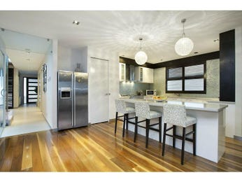 Floorboards in a kitchen design from an Australian home - Kitchen Photo 7404833