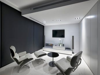 Black living room idea from a real Australian home - Living Area photo 1807193