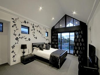Silver bedroom design idea from a real Australian home - Bedroom photo 513862