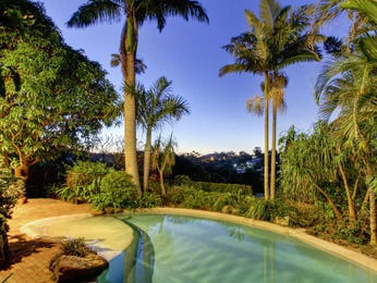 Low maintenance pool design using bamboo with retaining wall & rockery - Pool photo 190077
