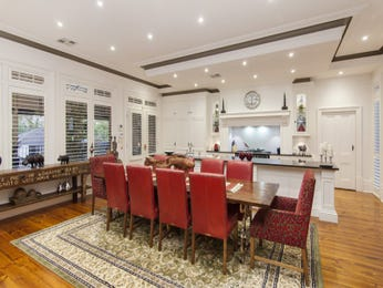 Red dining room idea from a real Australian home - Dining Room photo 17056945