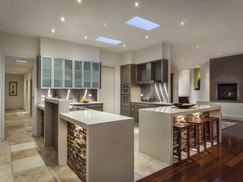 Frosted glass in a kitchen design from an Australian home - Kitchen Photo 8818941