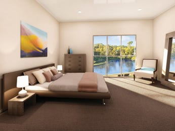 Brown bedroom design idea from a real Australian home - Bedroom photo 15124593