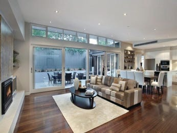White living room idea from a real Australian home - Living Area photo 193404