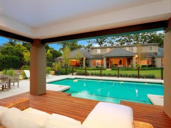 Pool ideas with decking for Pool area designs
