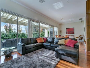 Black living room idea from a real Australian home - Living Area photo 15823333