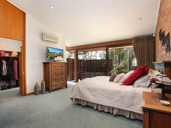 Brown bedroom design idea from a real Australian home - Bedroom photo 7872337