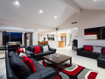 Black living room idea from a real Australian home - Living Area photo 8774385
