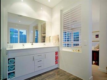 Classic bathroom design with twin basins using marble - Bathroom Photo 411179