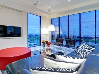 Red living room idea from a real Australian home - Living Area photo 8724649