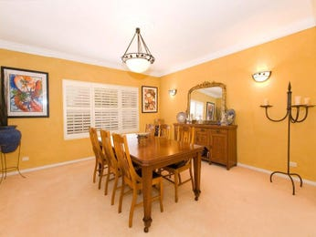 Orange dining room idea from a real Australian home - Dining Room photo 473155