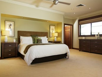Brown bedroom design idea from a real Australian home - Bedroom photo 15618665