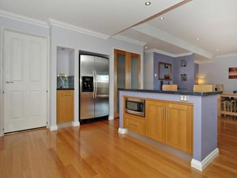 Floorboards in a kitchen design from an Australian home - Kitchen Photo 345235