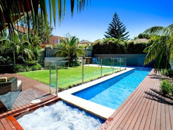 Photo of a geometric pool from a real Australian home - Pool photo 345312