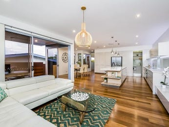 Green living room idea from a real Australian home - Living Area photo 16060673