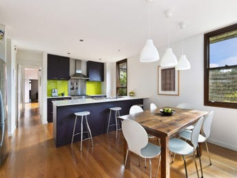 Floorboards in a kitchen design from an Australian home - Kitchen Photo 8807497