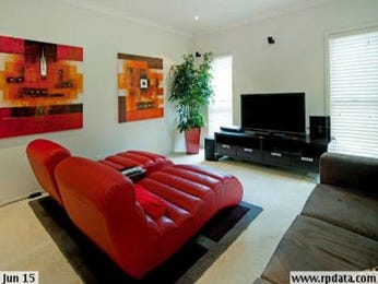 Orange living room idea from a real Australian home - Living Area photo 15708189