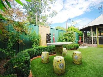 Landscaped garden design using grass with gazebo & hedging - Gardens photo 250930