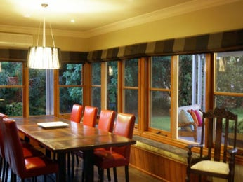 Brown dining room idea from a real Australian home - Dining Room photo 7602865
