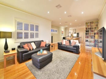 Black living room idea from a real Australian home - Living Area photo 17164545