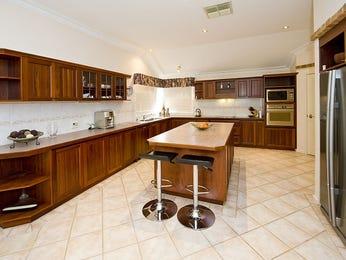 Galley kitchen designs with breakfast bar in brown for Galley kitchen designs with breakfast bar