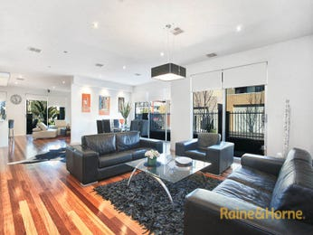 Black living room idea from a real Australian home - Living Area photo 16238593