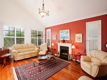 Red living room idea from a real Australian home - Living Area photo 7266093