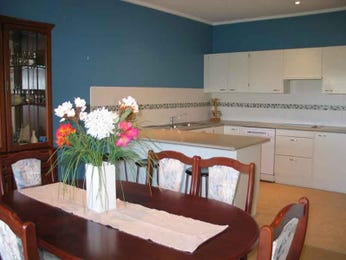 Blue dining room idea from a real Australian home - Dining Room photo 802328