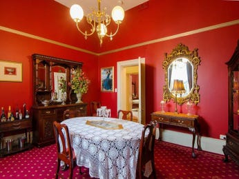 Red dining room idea from a real Australian home - Dining Room photo 8215345