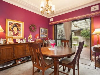 Red dining room idea from a real Australian home - Dining Room photo 8895705