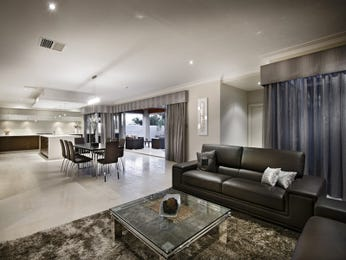 Grey living room idea from a real Australian home - Living Area photo 256172