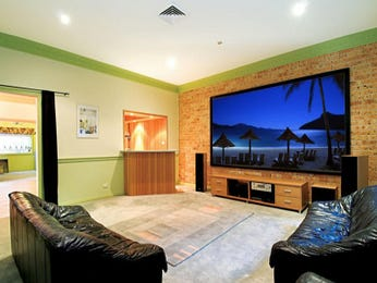 Green living room idea from a real Australian home - Living Area photo 494397