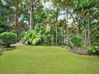 Australian native garden design using grass with bbq area & fountain - Gardens photo 257392