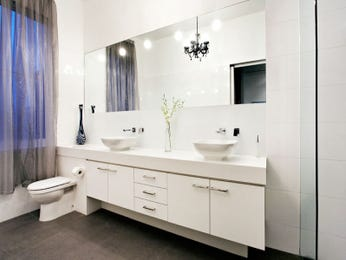 Cabinetry in a bathroom design from an Australian home - Bathroom Photo 420170