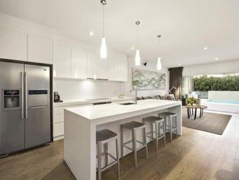 Pendant lighting in a kitchen design from an Australian home - Kitchen Photo 8506205