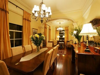Brown dining room idea from a real Australian home - Dining Room photo 369399