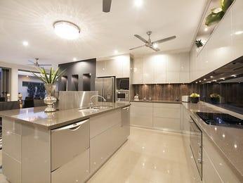 Modern open plan kitchen design using tiles - Kitchen Photo 8796993