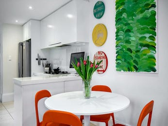 Green dining room idea from a real Australian home - Dining Room photo 8642537